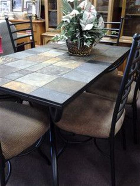 tile dining room table 1000 images about wrought iron tile top table on
