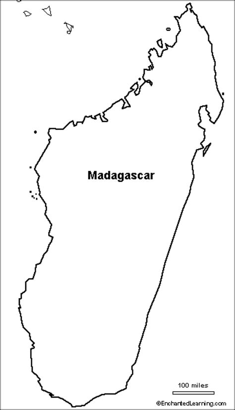 madagascar island coloring page outline map research activity 3 madagascar