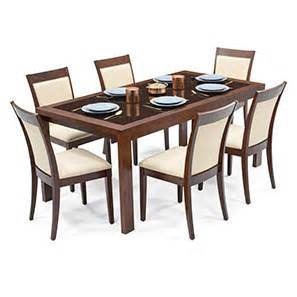 Glass Top Dining Table For 6 Vanalen 6 To 8 Extendable Dalla 6 Seater Glass Top Dining Table Set Ladder
