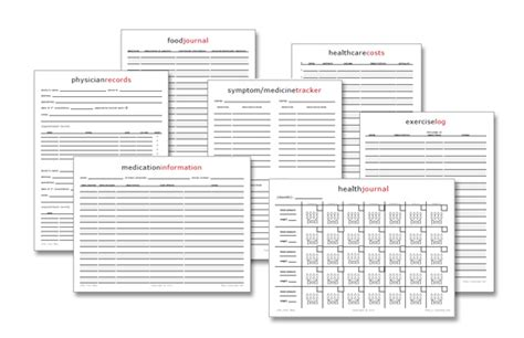 Free Printable Medical Journal | free printables health journal physician inventory