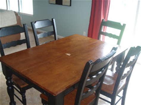 operation refinishing kitchen table infarrantly creative