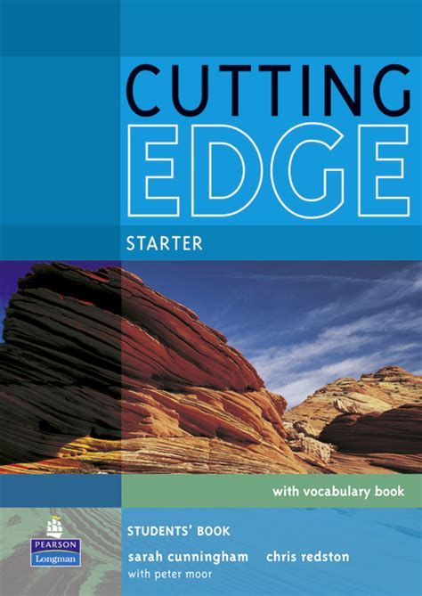 cutting edge a novel books cutting edge starter students book and cd rom pack
