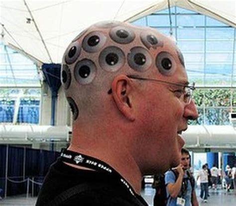 tattoo eyes back of head head tattoos that are quite creative 67 pics izismile com