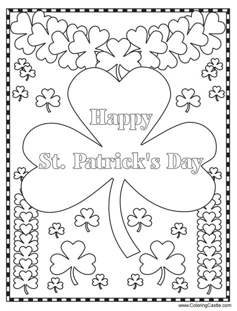 online coloring pages st patrick s day 271 free printable st patrick s day coloring pages