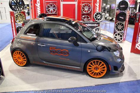 customized fiat 500 at sema 2012 500 madness custom