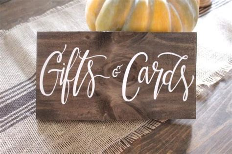 wedding gift sign ideas gifts cards sign cards sign rustic wooden wedding sign