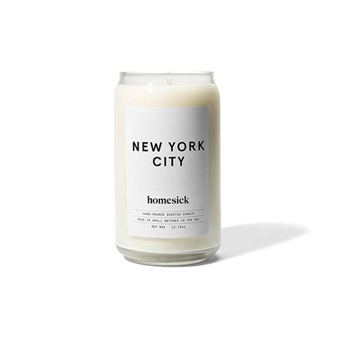 new york homesick candle weirdshityoucanbuy cool things to buy online awesome