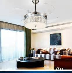Dining Room Ceiling Fan by Led Light Ceiling Chandelier Fan Variable Expansion Simple