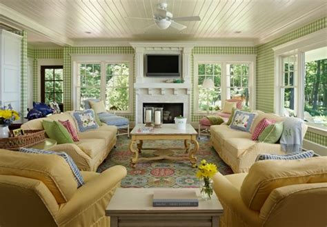 Cottage Colors Interior by A Joyful Cottage 35 Cottage Style Living Rooms That Inspire