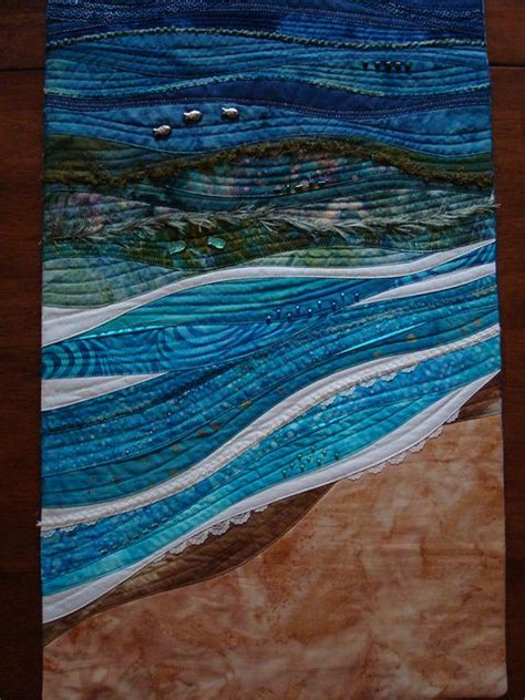 Seascape Quilts quilted seascape quilts