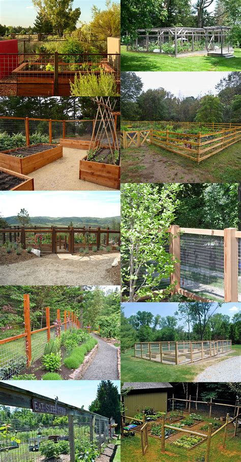 enolivier com vegetable garden with fence as long as fence ideas for a vegetable garden
