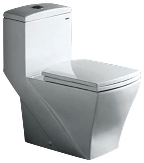 square toliet fresca ftl1018 salerno one piece dual flush square toilet modern toilets by xomart