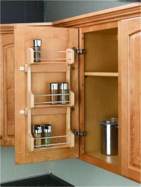 inside kitchen cabinet door storage inside cabinet door spice rack whereibuyit com