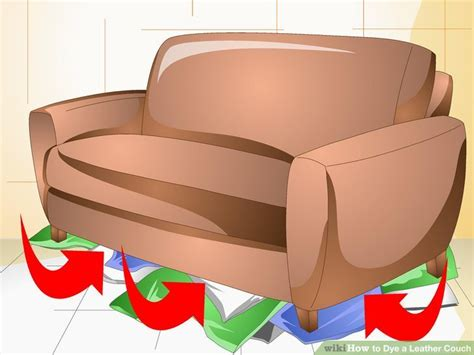 can a leather couch be dyed how to dye a leather couch 10 steps with pictures wikihow