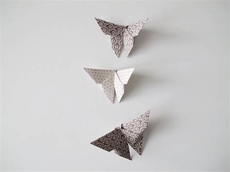 Paper Butterflies Origami - diy origami butterflies paper projects