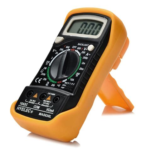 multimeter diode test digital lcd multimeter manual range diode test backlight digital multimeter hyelec mas830l