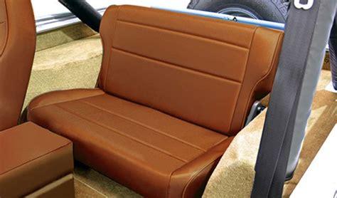 jeep seats fold rugged ridge fold tumble rear seat jeep wrangler yj