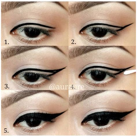 eyeliner tutorial with pencil step by step eyeliner tutorial alldaychic