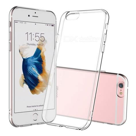 Ultra Thin For Iphone 6 Plus Transparent 1 naxtop tpu ultra thin soft for iphone 6s plus