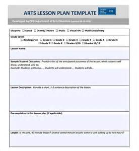 cps lesson plan template sle lesson plan 7 documents in pdf