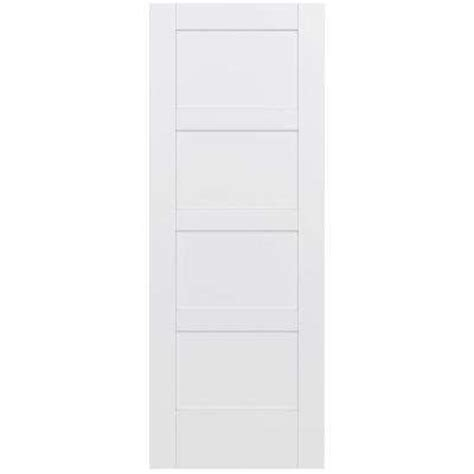 4 panel slab doors interior closet doors doors