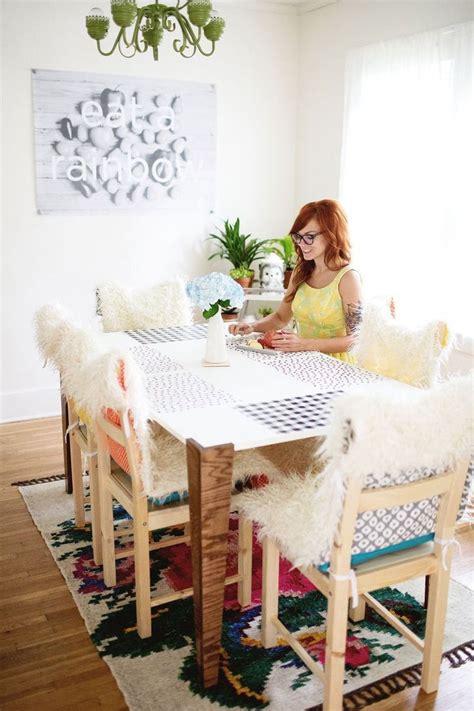 diy chair cushion covers diy faux fur chair covers and cushions a beautiful mess