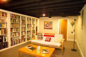 Remodel Bedroom Cheap Exposed Ceiling Basement Ideas Laundry Room Contemporary