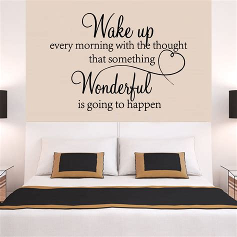 Bedroom Wall Quote Stickers Uk Family Wonderful Bedroom Quote Wall Stickers