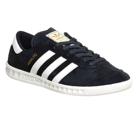 Adidas Hamburg 01 adidas hamburg trainers navy white exclusive his
