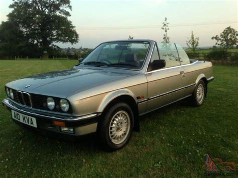 1987 e30 bmw 1987 e30 bmw 325i convertible