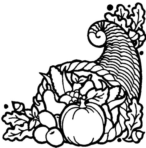 cornucopia basket coloring page thanksgiving coloring pages thanksgiving cornucopia