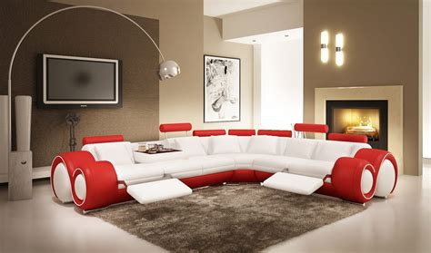 modern living room furniture for a combination of