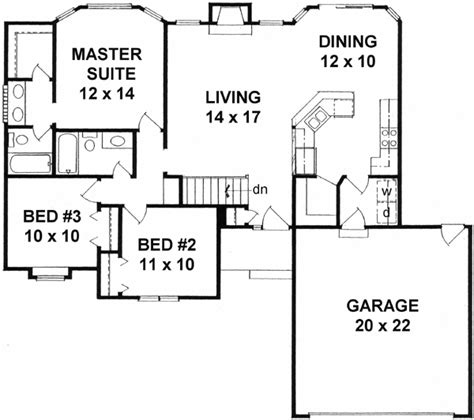 single story house floor plans plan w69022am northwest northwest style house plans 1214 square foot home 1
