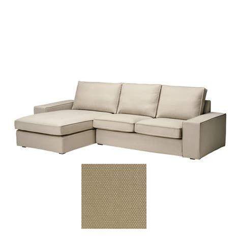 ikea kivik chaise lounge slipcover ikea kivik 2 seat loveseat sofa w chaise lounge slipcover