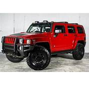 23 Awesome Hummer H3 Red Custom Images  Rides
