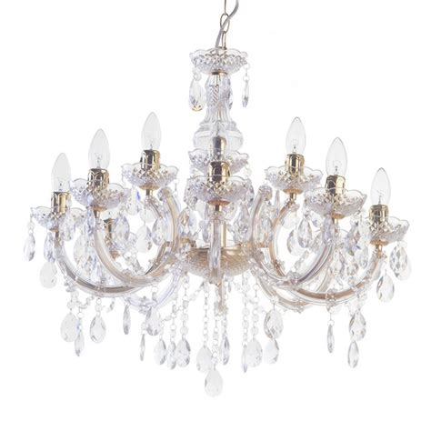 ceiling mounted chandelier litecraft louise brass 12 light dual mount ceiling