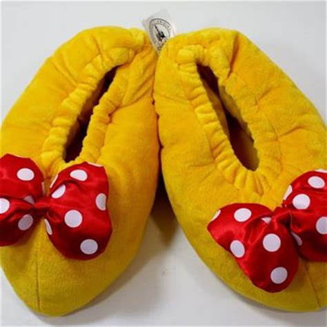 minnie mouse bedroom slippers disney parks minnie mouse plush house from aircrate