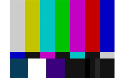 test pattern language technical difficulties public access television a