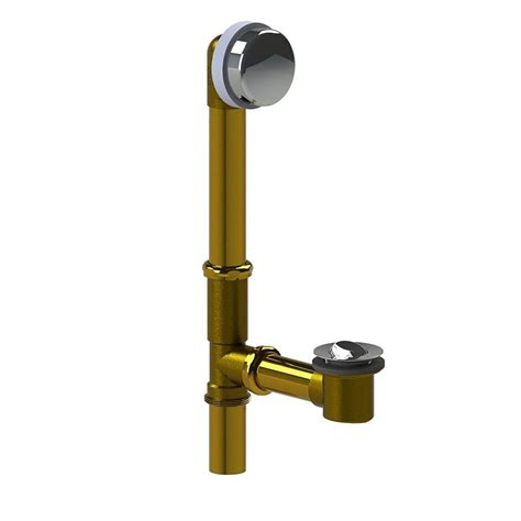 watco bathtub faucets watco 591 series 16 in tubular brass bath waste with