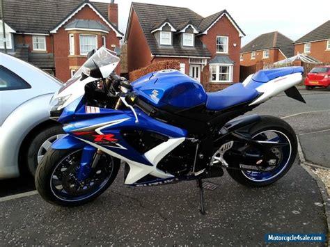 Suzuki Motorcycle Recommendations 2009 Suzuki Gsxr 600 K8 For Sale In United Kingdom