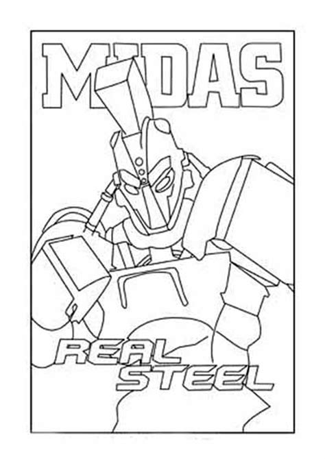 noisy boy coloring page free coloring pages of real steel robots
