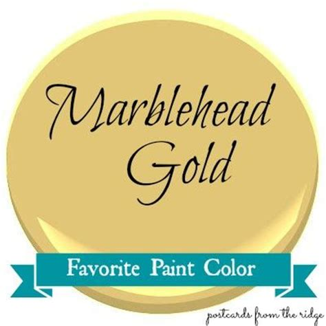 favorite paint color marblehead gold colors benjamin and the o jays