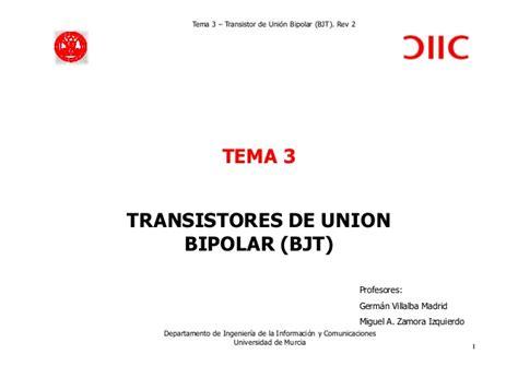 transistor de union bipolar aplicaciones transistor de union bipolar aplicaciones 28 images el transistor de uni 243 n bipolar bjt