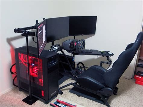 Obutto Revolution Racing Simulator photo of obutto revolution question sim racing rigs cockpit insidesimracing forums