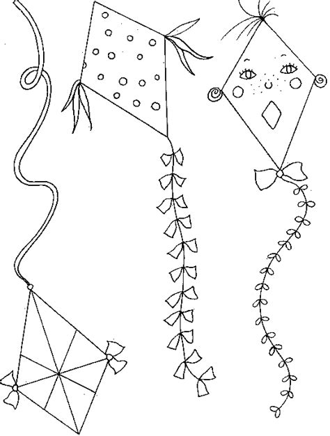 free coloring pages of k kite