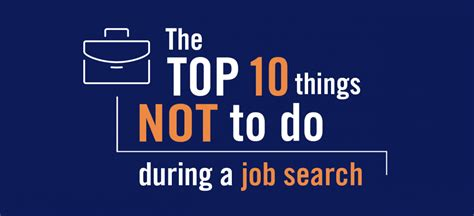 10 Things Not To Do The Top 10 Things Not To Do During A Search Aly