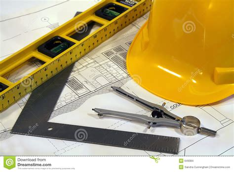 Free Floor Plan Drawing Tool Architectural Plans And Tools Stock Photo Image 649384