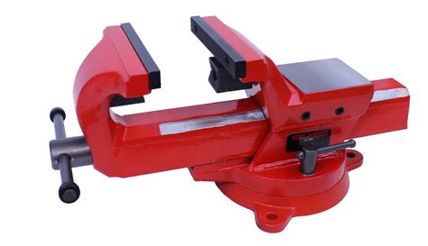 industrial bench vise yost vises fsv 4 4 quot heavy duty forged steel bench vise