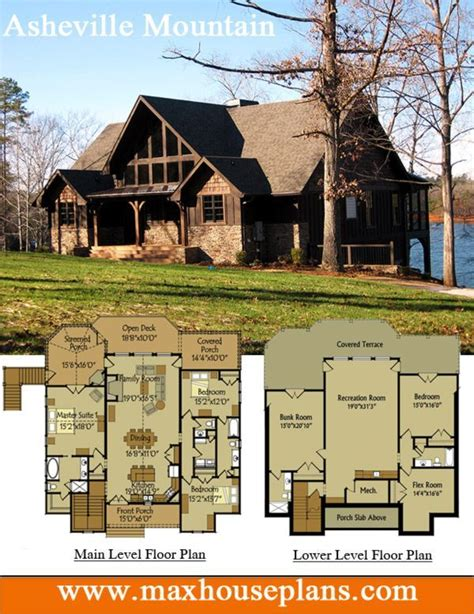 25 best ideas about lake house plans on open