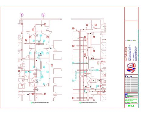 Free Floor Plan Template by Autocad Hvac Drafting Samples